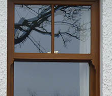 Timber replica windows