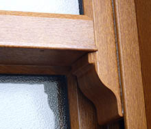 Authentic sash horn windows